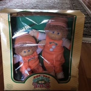 💙Rare💙 1985 Cabbage Patch kids twin baby boys
